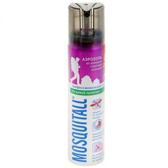 Москитол профессиональная защита спрей против комаров 50мл, фото №1