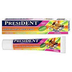Президент бэби зубная паста-гель детская до 3х лет карамель 30мл