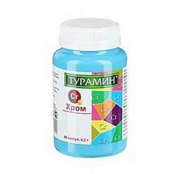 Турамин хром 0,2г 90 шт.