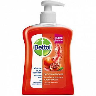Деттол мыло жидкое для рук восстановление гранат/малина 250мл