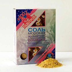 Соль морская ароматная ромашка 500г 2 шт. фильтр-пакет