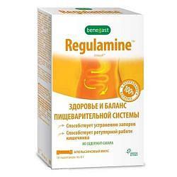 Бенегаст регуламин 6г апельсин 10 шт. саше