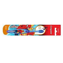 Колгейт барби/спайдер мэн зубная щетка для детей 2-5лет супер мягкая