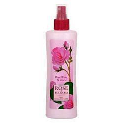 Роуз оф болгария (rose of bulgaria) розовая вода с пульверизатором 230мл