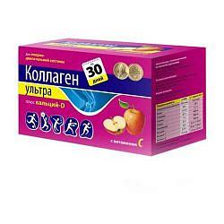 Коллаген ультра плюс 8г яблоко ca-d 30 шт. пакет