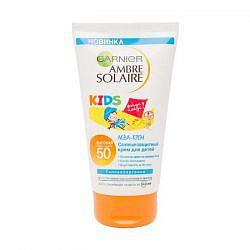 Гарнье амбр солер защита для детей водостойкий крем спф50 150мл лореаль