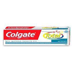 Колгейт тотал 12 зубная паста чистая мята 75мл