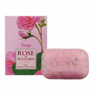 Роуз оф болгария мыло косметическое натуральное 100г