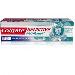 Колгейт сенситив про-релиф зубная паста восстановление и контроль 75мл