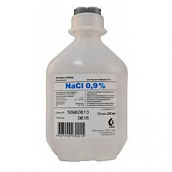 Натрия хлорид 0,9% 250мл 10 шт. раствор для инфузий