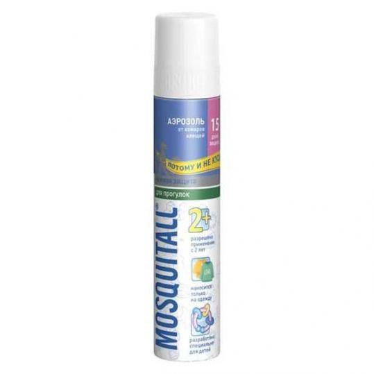 Москитол защита для детей аэрозоль от клещей и комаров 150мл, фото №1