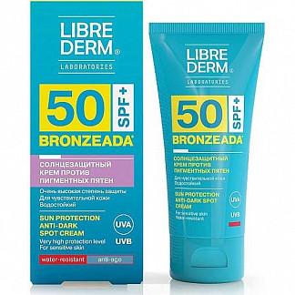 Либридерм бронзиада крем для лица/тела солнцезащитный против пигментных пятен spf 50 50мл