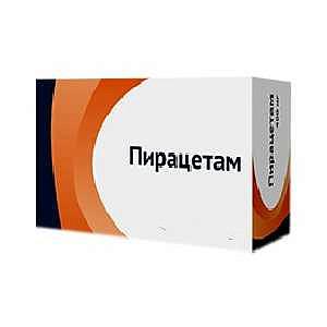 Пирацетам 200мг 60 шт. таблетки покрытые пленочной оболочкой