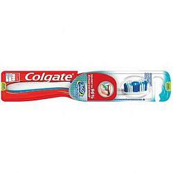 Колгейт 360 зубная щетка суперчистота средняя 1+1