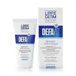 Либридерм дефавит крем восстанавливающий и успокаивающий витаминный жирный 50мл
