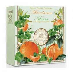 Фьери дея мыло мандарин и мята 100г saponificio artigianale fiorentino srl