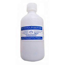 Перекись водорода 3% 100мл раствор для местного применения
