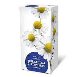 Ромашки цветки фиточай 1,5г 20 шт. фильтр-пакет