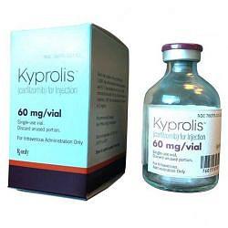 Кипролис 60мг 1 шт. лиофилизат для приготовления раствора для инфузий