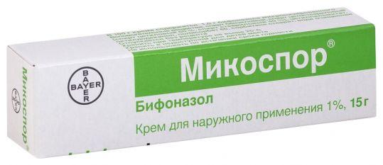 Микоспор 1% 15г крем, фото №1