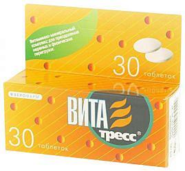 Витатресс 30 шт. таблетки покрытые оболочкой