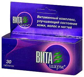 Виташарм 30 шт. таблетки покрытые оболочкой