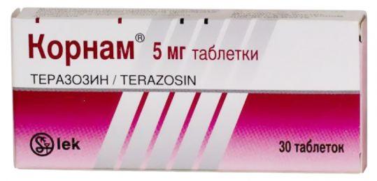 Корнам 5мг 30 шт. таблетки, фото №1