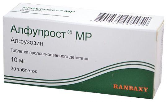 Алфупрост мр 10мг 30 шт. таблетки пролонгированного действия, фото №1