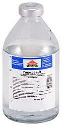 Глюкоза-э 5% 200мл 1 шт. раствор для инфузий