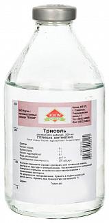 Трисоль 200мл раствор для инфузий