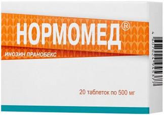 Нормомед 500мг 20 шт. таблетки