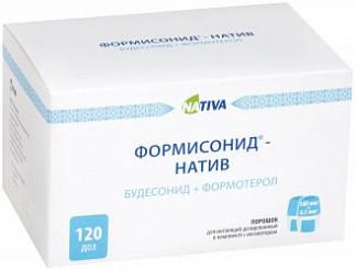 Формисонид-натив 160мкг/4,5мкг 120 шт. порошок для ингаляций дозированный + устройство