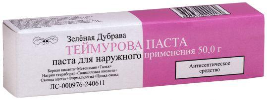 Теймурова паста 50г паста для наружного применения, фото №1
