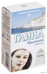 Фитокосметик сокровища родного края глина белая для лица и тела крымская 100г