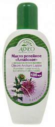 Алтайское масло репейное с экстрактом крапивы 100мл алсу