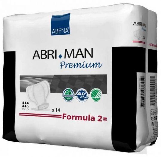 Абри-мен премиум прокладки урологические для мужчин формула 2 14 шт., фото №1