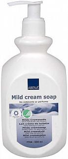 Абена крем-мыло нежное без красителя и отдушек 500мл