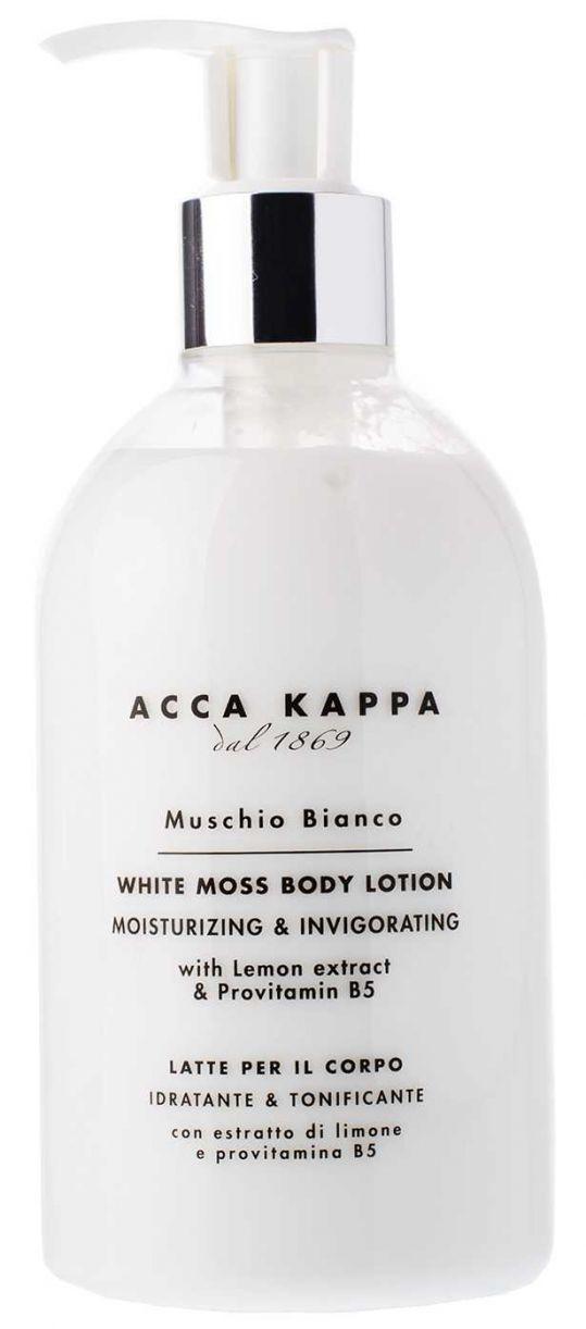 Acca kappa молочко для тела белый мускус 300мл, фото №1