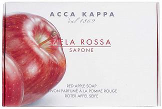 Acca kappa мыло туалетное красное яблоко 150г