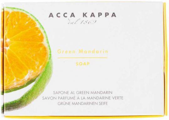 Acca kappa мыло туалетное зеленый мандарин 150г, фото №1