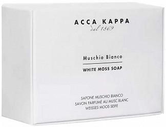Acca kappa мыло туалетное белый мускус 150г