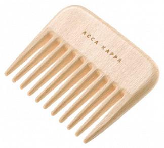 Акка каппа гребень деревяный афро арт.82420