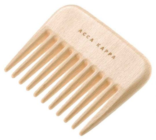 Акка каппа гребень деревяный афро арт.82420, фото №1