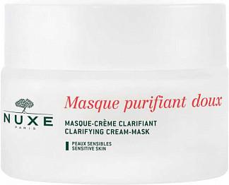 Нюкс крем-маска нежная очищающая с лепестками роз 50мл