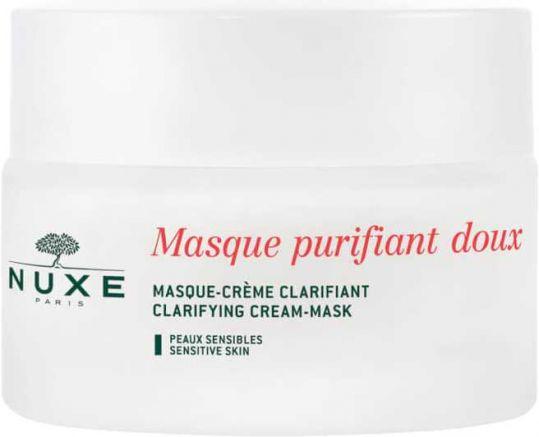 Нюкс крем-маска нежная очищающая с лепестками роз 50мл, фото №1