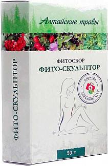 Алтайские травы фито-скульптор фитосбор 50г
