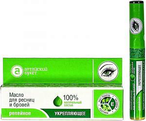 Алтайский букет масло репейное для ресниц/бровей укрепляющее 7мл