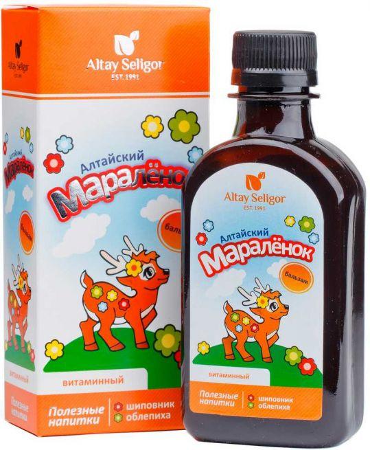 Алтайский мараленок бальзам витаминный 200мл, фото №1