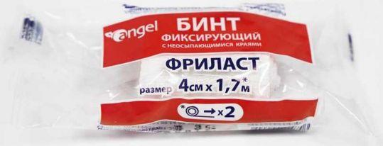 Ангел фриласт бинт эластичный фиксирующий 4х170см, фото №1