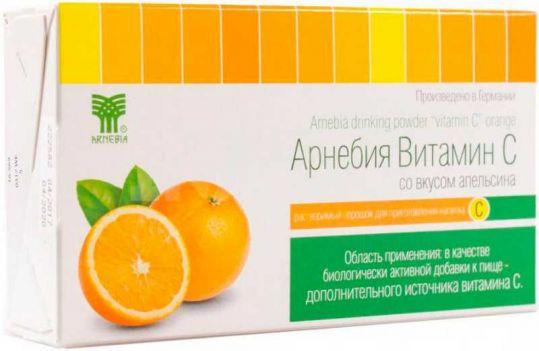 Арнебия витамин c порошок апельсин 5г 10 шт., фото №1